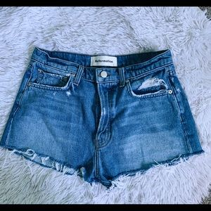 Reformation Distressed Jean Shorts size 28 EUC